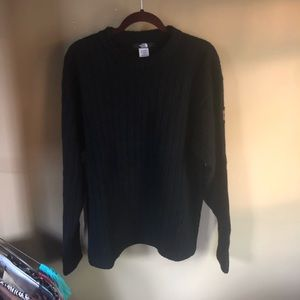 The north face men's wool sweater